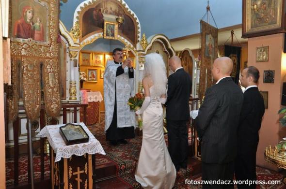 Ślub w Cerkwi  św. Mikołaja w Kielcach przy ulicy Bodzentyńskiej 46