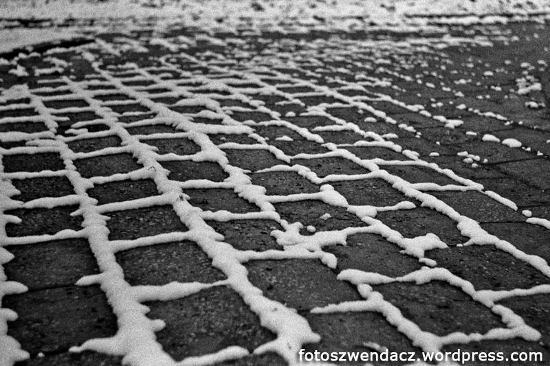 Pierwszy śnieg w Kielcach