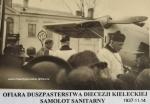 Ofiara Duszpasterstwa Diecezji Kieleckiej - samolot sanitarny RWD-13S, 1937-11-14 r.
