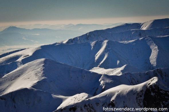 Zimowa wyprawa na Kozi Wierch (2291 m n.p.m.) Tatry Wysokie